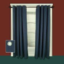 Red Blackout Blind Blackout Curtains U0026 Drapes Window Treatments The Home Depot
