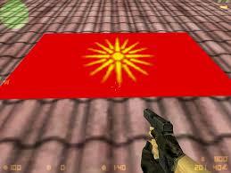 Flag Of Macedonia Macedonian Flag Spray Counter Strike 1 6 Sprays