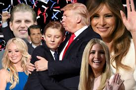 donald trump family donald trump s wife ex wives and children a guide to tiffany eric