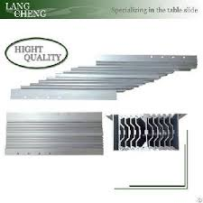 table extension slide mechanism offer aluminum alloy multi sections table slide table extension
