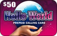hello prepaid card spp hello world 50 prepaid calling card