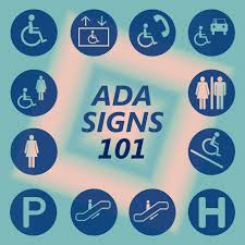 Ada Bathroom Sign Height by Ada Signage 101 Your Guide To Ada Compliance