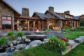 Family Compound Floor Plans A Rustic Family Compound In The Mountains Of Montana