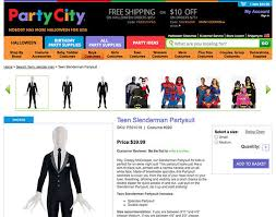 Boys Halloween Costumes Party Wisconsin Community Outraged Sale Slender Man Halloween
