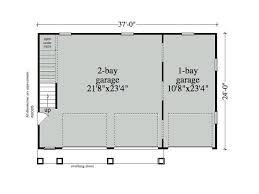 garage with loft floor plans garage loft plans 3 car garage loft plan design 053g 0012 at