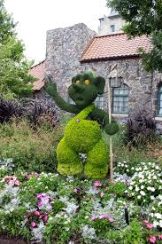 means flowers with disney character at walt disney world s