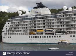 the world is a private cruise ship travelling around the globe