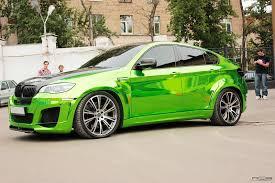 nissan gtr vs bmw x6m bmw x6m chrome green hulk style 6 dream cars wish list