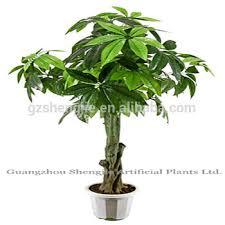 sjm091077 plastic outdoor ornamental plants artificial pachira