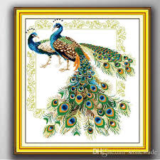 handmade peacock painting canvas online handmade peacock