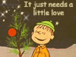 linus christmas tree peanuts linus pictures images photos photobucket