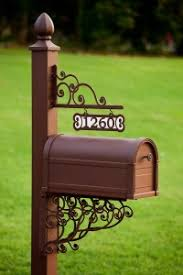 decorative mailboxes personalized decorative mailbox and post