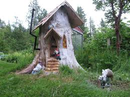 Tree House Home by Gnome Stump Home Youtube