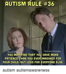 Xfiles Meme - autism rule 36 fbautism odysseys source x files you may find that