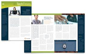 techtimes free newsletter template indesign templates on free