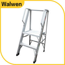 2 Step Handrail Best Price Household Safety Agility Folding 2 Step Aluminium