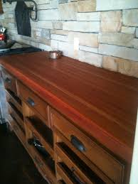 lyptus and american black cherry butcher block countertop by
