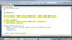 T Sql Drop Table If Exists New T Sql Features Free Training Youtube