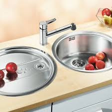 Blanco RONDO SET Round Bowl Sink And Drainer SinksTapscom - Round kitchen sink and drainer