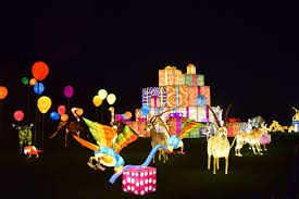Turtle Back Zoo Lights by Visiting Longleat Festival Of Light Kids And Compass