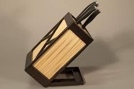 knife blocks steel knife block by terrasteel furniture design