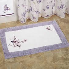 Silver Bathroom Rugs by Bathroom Fascinating Picture Of Rectangular Pastel Color Cotton