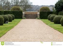 gravel path in garden stock photo image 51776132