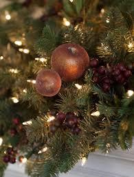 orchard harvest christmas mantel swag balsam hill
