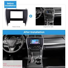 is toyota american double din 2015 toyota camry american version car radio fascia