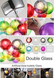 Beleuchtung F Esszimmer Bunte Glas Pendelleuchte Für Küche Insel Hängen Beleuchtung
