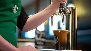 starbucks thanksgiving day starbucks adds nitro cold brew coffee to the menu
