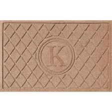 Monogrammed Rugs Outdoor by Monogrammed Door Mats Mats The Home Depot