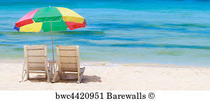Beach Umbrella And Chairs 38 805 Beach Umbrella Posters And Art Prints Barewalls