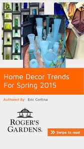 home decor trends for spring 2015