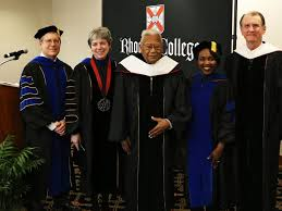 academic robes awards honorary degree to civil rights activist rev