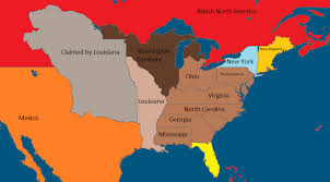 the united states of america and neighbouring countries map the united states and neighboring countries in 1860 imaginarymaps