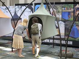 tree tents get campers off the ground and into the air the