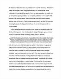 Essay Rough Draft Example Vote Essay Essay On Book The Book Night Essay At Essaysorg Sample