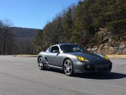Porsche Boxster Yellow - yellow headlight film installed thought