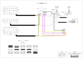 guitar wiring diagram 2 humbucker 1 single coil split with
