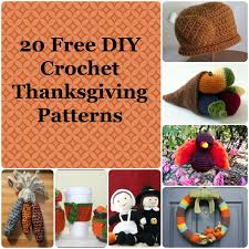 student to student 20 free diy crochet thanksgiving