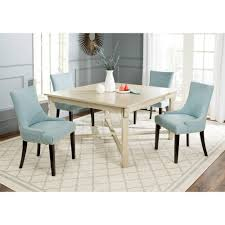 Dining Room Tables White by Safavieh Bleeker White Washed Dining Table Amh6643b The Home Depot