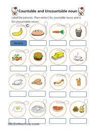 Nouns Worksheet Countable And Uncountable Nouns Worksheets Pinterest English