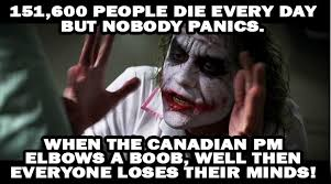 Boob Memes - when the canadian pm elbows a boob memes