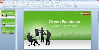 slide templates for powerpoint 2010 free business plan