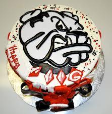 leah u0027s sweet treats university of georgia birthday cake