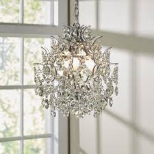 How To Make Crystal Chandelier Metal Chandeliers You U0027ll Love Wayfair