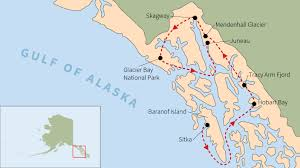 Show Me A Map Of Alaska by Alaska U0027s Inside Passage Educational Travel Road Scholar