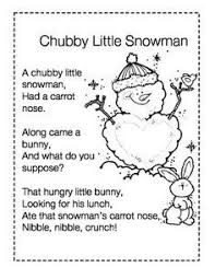 25 unique snowman poem ideas on back of my free