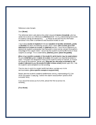 examples of recommendation letters best template collection